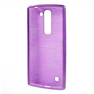 Brush gelový kryt na LG G4c H525N - fialový - 2