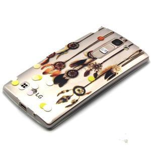 Průhledný gelový obal na LG G4c - dream - 2