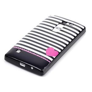 Soft gelové pouzdro na LG G4c - srdce - 2