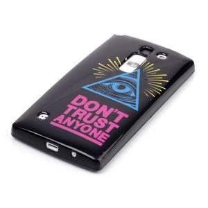 Soft gelové pouzdro na LG G4c - oko - 2