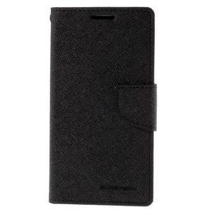 Diary PU kožené pouzdro na LG G4c - černé - 2