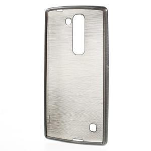 Brush gelový kryt na LG G4c H525N - šedý - 2