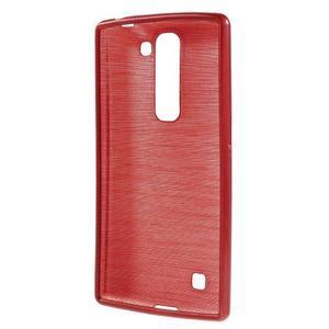 Brush gelový kryt na LG G4c H525N - červený - 2