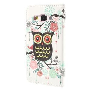 Pouzdro na mobil Samsung Galaxy A3 - sova - 2