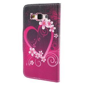 Pouzdro na mobil Samsung Galaxy A3 - srdce - 2