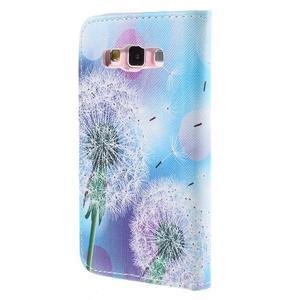 Peněženkové pouzdro na Samsung Galaxy A3 - odkvetlá pampeliška - 2