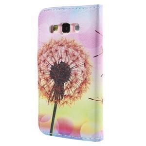 Peněženkové pouzdro na Samsung Galaxy A3 - oranžová pampeliška - 2