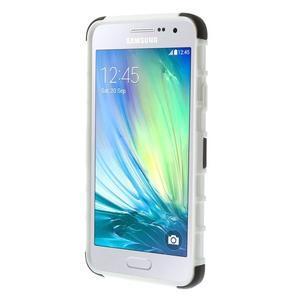 Outdoor odolný kryt na mobil Samsung Galaxy A3 - bílý - 2