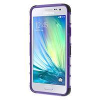Outdoor odolný kryt na mobil Samsung Galaxy A3 - fialový - 2/7