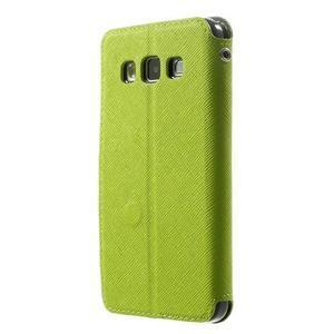 Roar peněženkové pouzdro s okýnkem na Samsung Galaxy A3 - zelené - 2