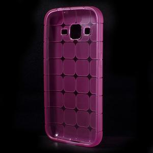 Square matný gelový obal na Samsung Galaxy Core Prime - rose - 2