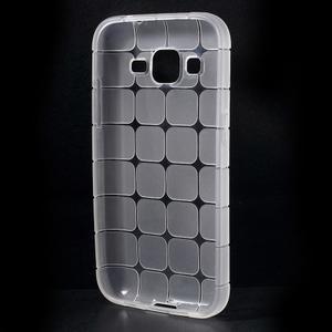 Square matný gelový obal na Samsung Galaxy Core Prime - transparentní - 2