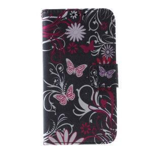 Pouzdro na mobil Samsung Galaxy Core Prime - kouzelní motýlci - 2