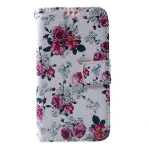 Pouzdro na mobil Samsung Galaxy Core Prime - květiny - 2