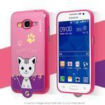Kočička Domi obal na mobil Samsung Galaxy Core Prime - rose - 2/7