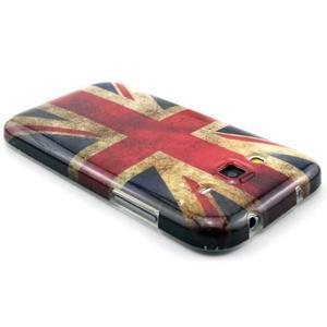 Gelový obal pro Samsung Core Prime - UK vlajka - 2