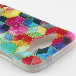 Gelový kryt na mobil Samsung Galaxy Core Prime - barvy hexagonu - 2