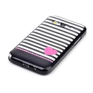 Gelový kryt na mobil Samsung Galaxy Core Prime - srdce - 2