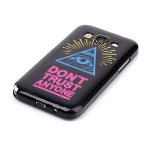 Gelový kryt na mobil Samsung Galaxy Core Prime - oko - 2