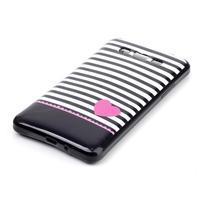 Jelly gelový obal na mobil Samsung Galaxy Grand Prime - srdce - 2/3