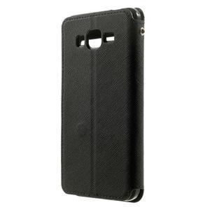 Safety pouzdro s okýnkem pro Samsung Galaxy Grand Prime - černé - 2