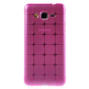 Square gelový obal na Samsung Galaxy Grand Prime - rose - 2