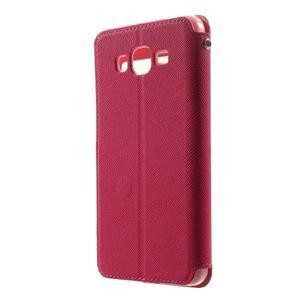 Safety pouzdro s okýnkem pro Samsung Galaxy Grand Prime - rose - 2