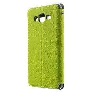 Safety pouzdro s okýnkem pro Samsung Galaxy Grand Prime - zelené - 2