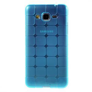 Square gelový obal na Samsung Galaxy Grand Prime - modré - 2