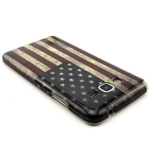 Gelový kryt na Samsung Grand Prime - US vlajka - 2