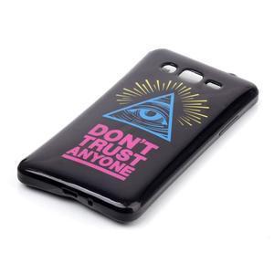 Jelly gelový obal na mobil Samsung Galaxy Grand Prime - oko - 2