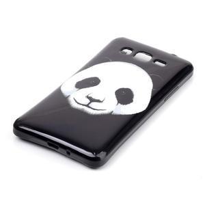 Jelly gelový obal na mobil Samsung Galaxy Grand Prime - panda - 2