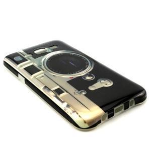 Stylový gelový kryt na Samsung Galaxy J5 - retro foťák - 2