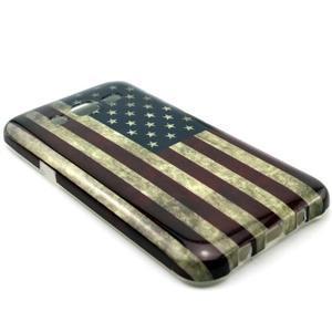 Stylový gelový kryt na Samsung Galaxy J5 - US vlajka - 2
