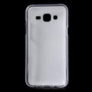 Gelové pouzdro na mobil pro Samsung Galaxy J5 - květiny - 2