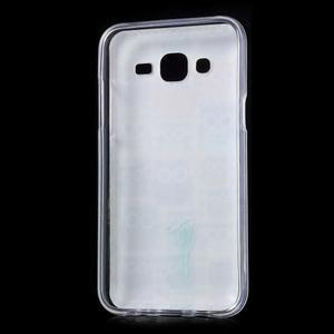Gelové pouzdro na mobil pro Samsung Galaxy J5 - sovičky - 2