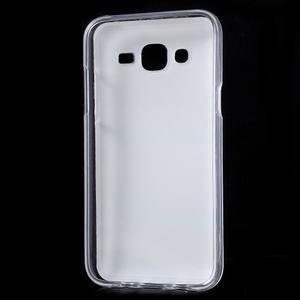 Gelové pouzdro na mobil pro Samsung Galaxy J5 - barvy dřeva - 2