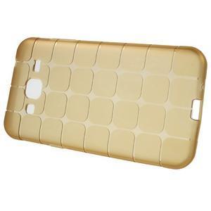 Square matný gelový obal na Samsung Galaxy J5 - champagne - 2