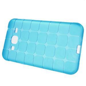 Square matný gelový obal na Samsung Galaxy J5 - modrý - 2