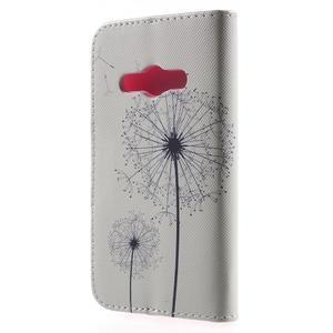 Vzorové peněženkové pouzdro na Samsung Galaxy Xcover 3 - odkvetlá pampeliška - 2