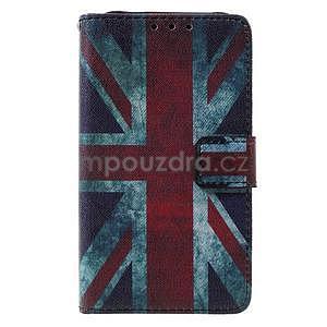 Stylové peněženkové pouzdro pro Samsung Galaxy Xcover 3 - UK vlajka - 2