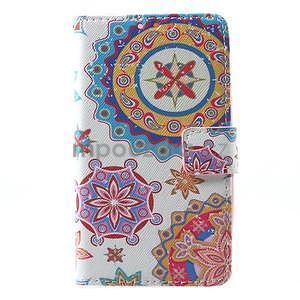Stylové peněženkové pouzdro pro Samsung Galaxy Xcover 3 - mandala - 2