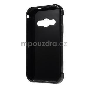 Lesklý gelový kryt na Samsung Galaxy Xcover 3 - černý - 2