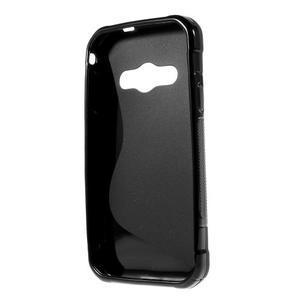 S-line gelový obal na Samsung Galaxy Xcover 3 - černý - 2
