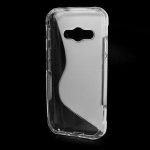 S-line gelový obal na Samsung Galaxy Xcover 3 - transparentní - 2