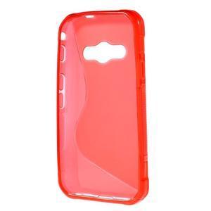 S-line gelový obal na Samsung Galaxy Xcover 3 - červený - 2