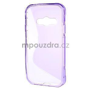 S-line gelový obal na Samsung Galaxy Xcover 3 - fialový - 2