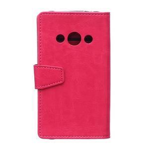 Rose koženkové pouzdro Samsung Galaxy Xcover 3 - 2