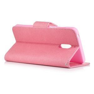 BadBeer peněženkové pouzdro na Nokia 6 - růžové - 2