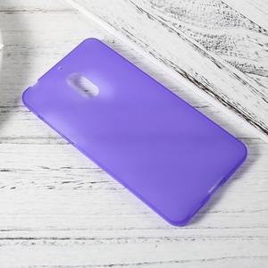 Matný gelový obal na mobil Nokia 6 - fialový - 2
